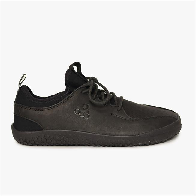 Vivobarefoot Primus School Junior Leather School Shoe with Barefoot Sole